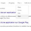 """L'onglet """"App"""" fait son apparition sur Google"""