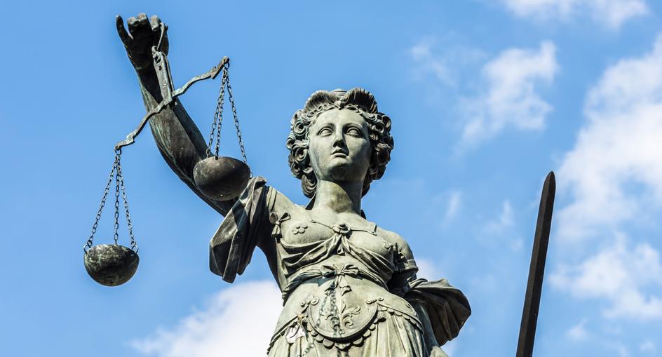 Statue de la justice