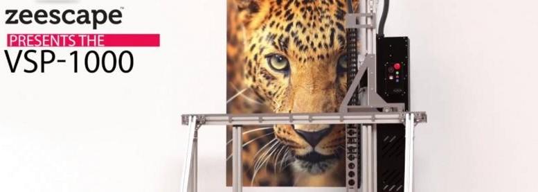 La première imprimante murale sur le marché des consommateurs