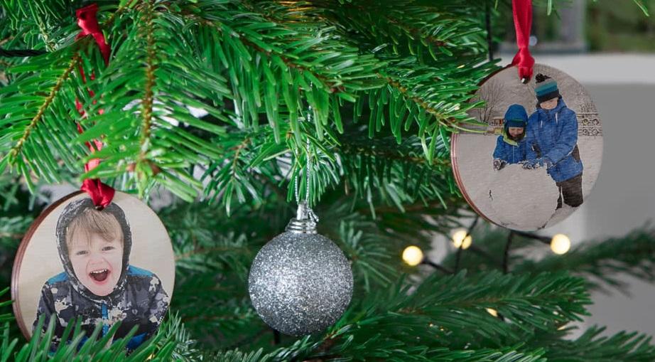 Décorations de Noël personnalisées