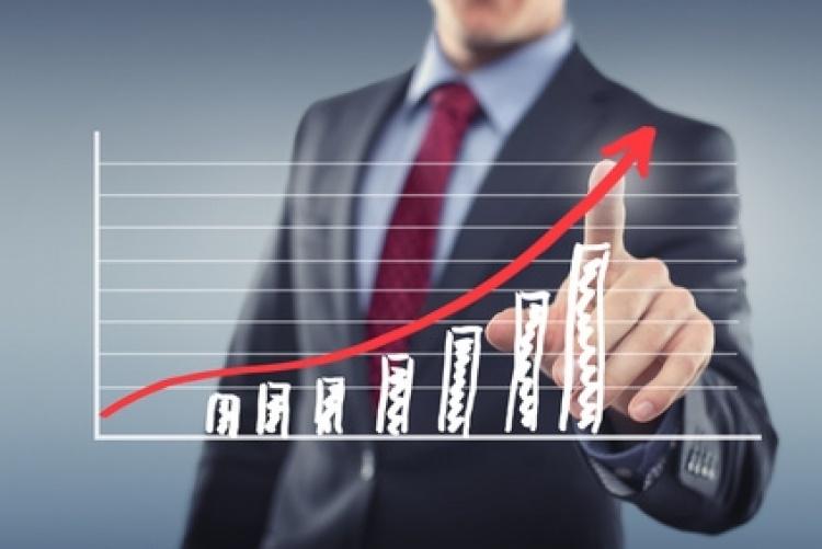 Schéma d'une croissance positive